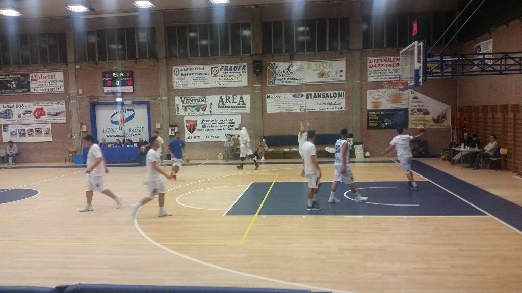 Anzola Basket vs Novellara 73 - 86