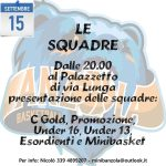 Presentazione Squadre