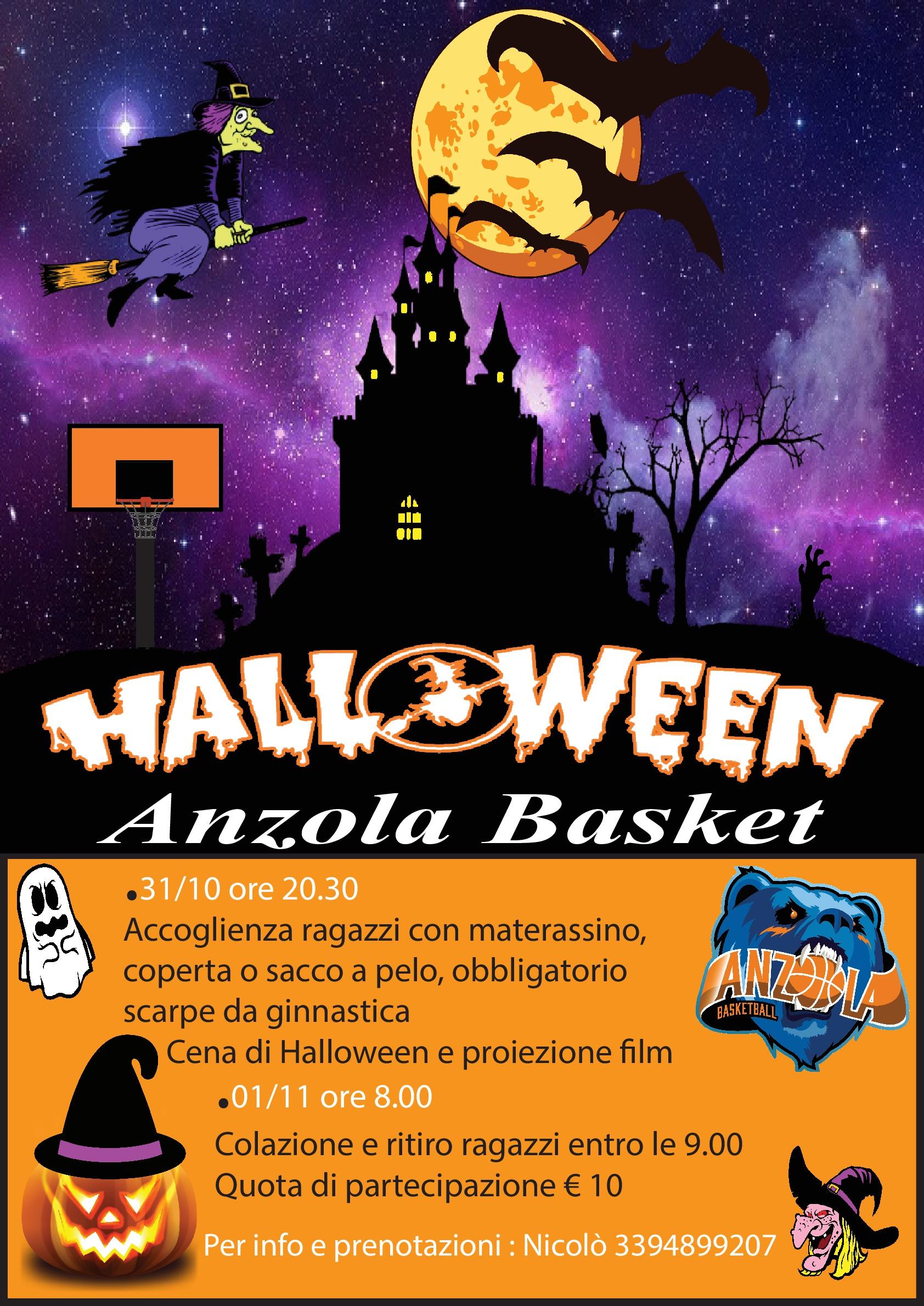 Film Di Halloween Per Bambini.Notte Di Halloween Anzola Basket