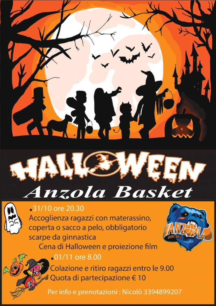 Notte Halloween in Palestra 3