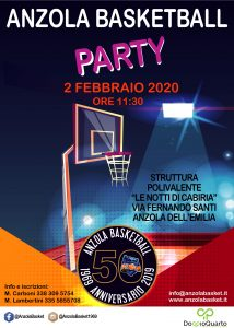 ASD Anzola Basket - Si festeggiano i 50 anni 1