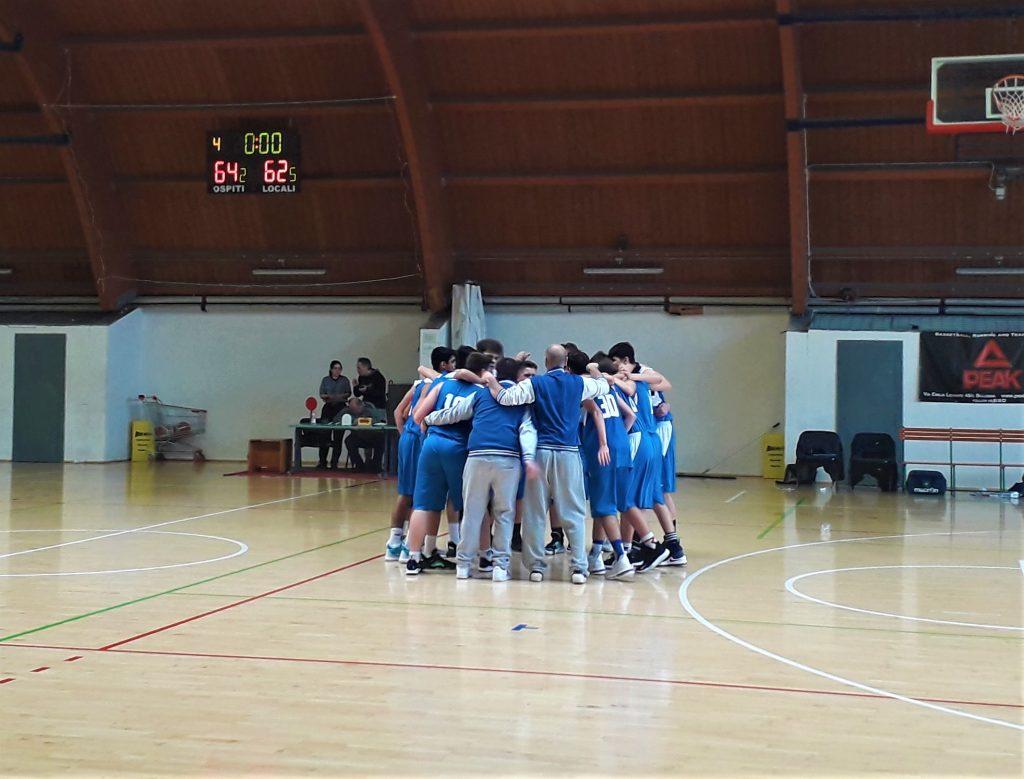 Pol. San Mamolo 2000 U18 vs Anzola Basket  U18
